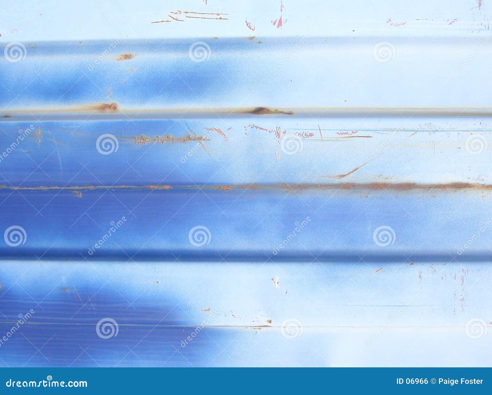 Niebieski abstrakcyjne metalu