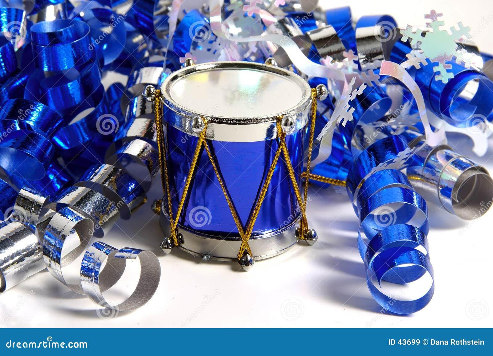Niebieski bębna