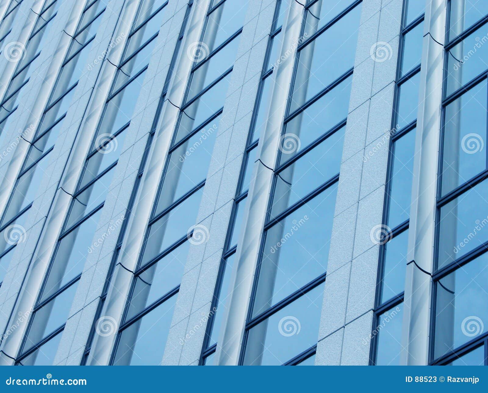 Niebieski corportate szczegół