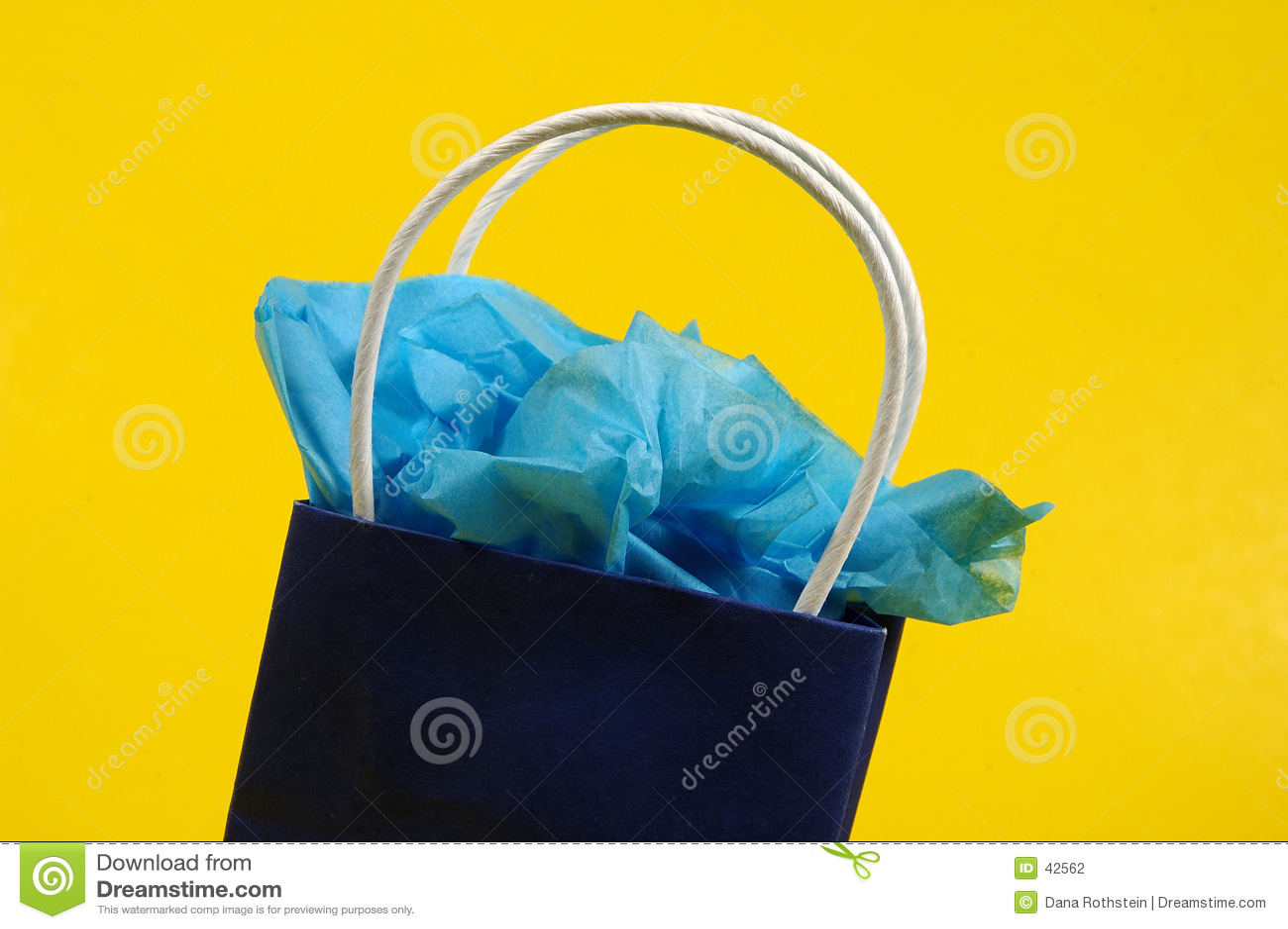 Niebieski giftbag