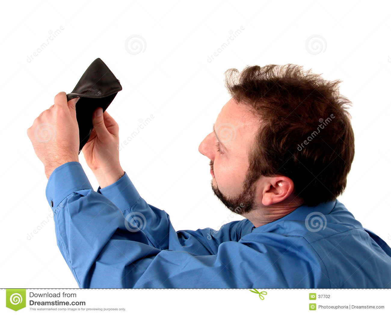 Download Niebieski Interes Ludzi Pieniądze Nie Zdjęcie Stock - Obraz złożonej z koszula, payday: 37702