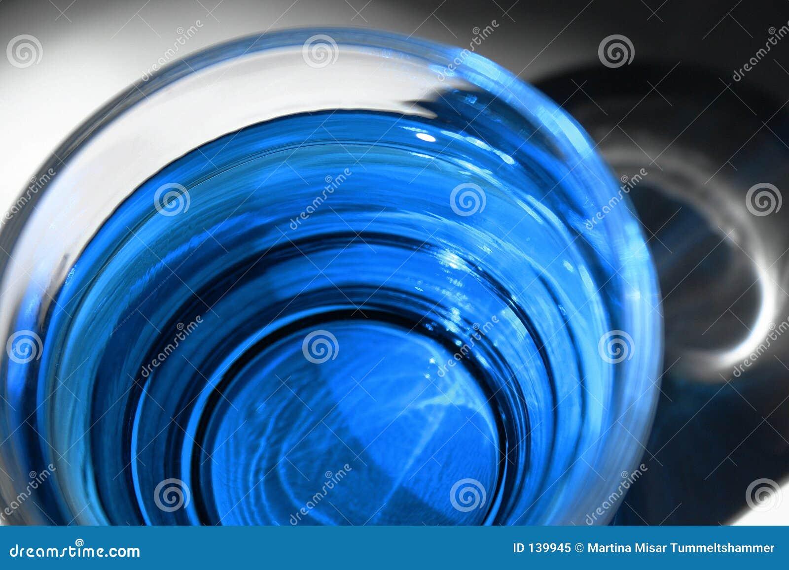 Niebieski koktajl
