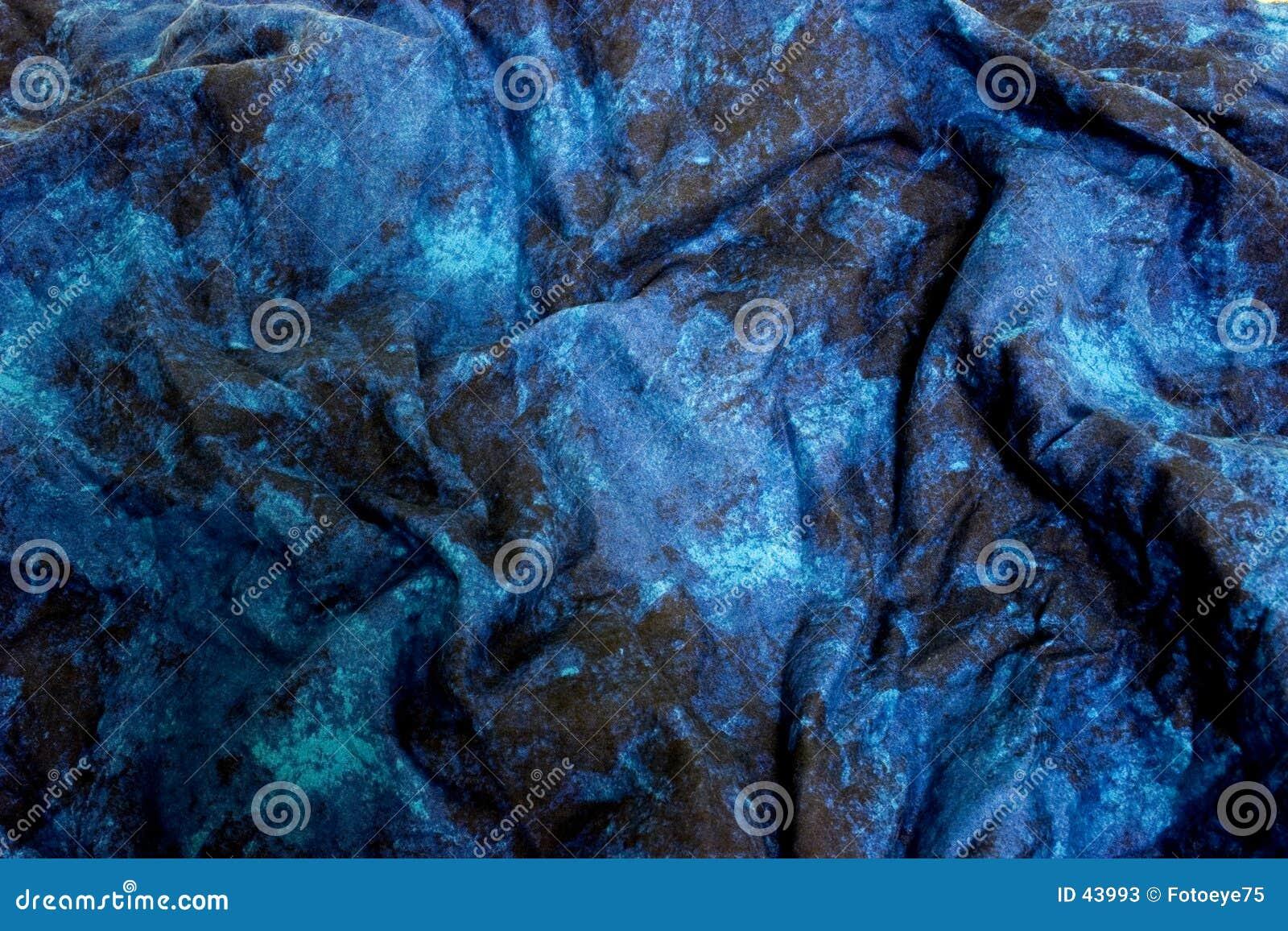 Niebieski materiał marmur