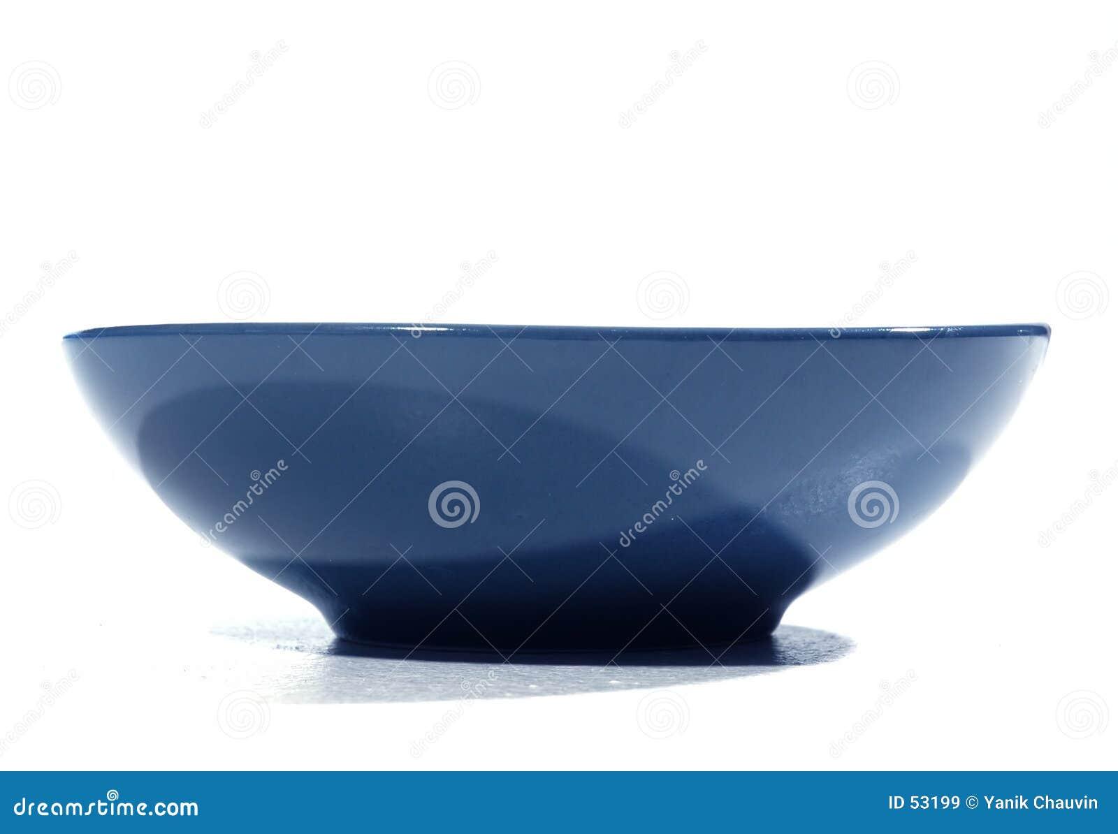 Niebieski miskę