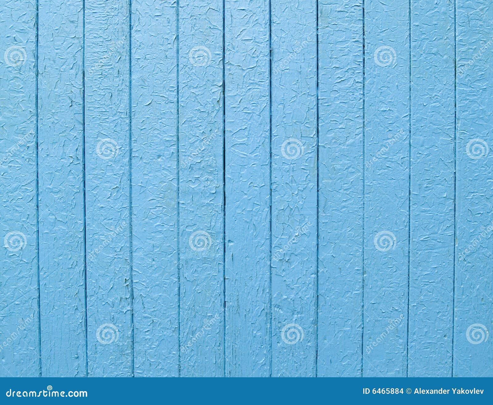 Niebieski ogrodzenie światło