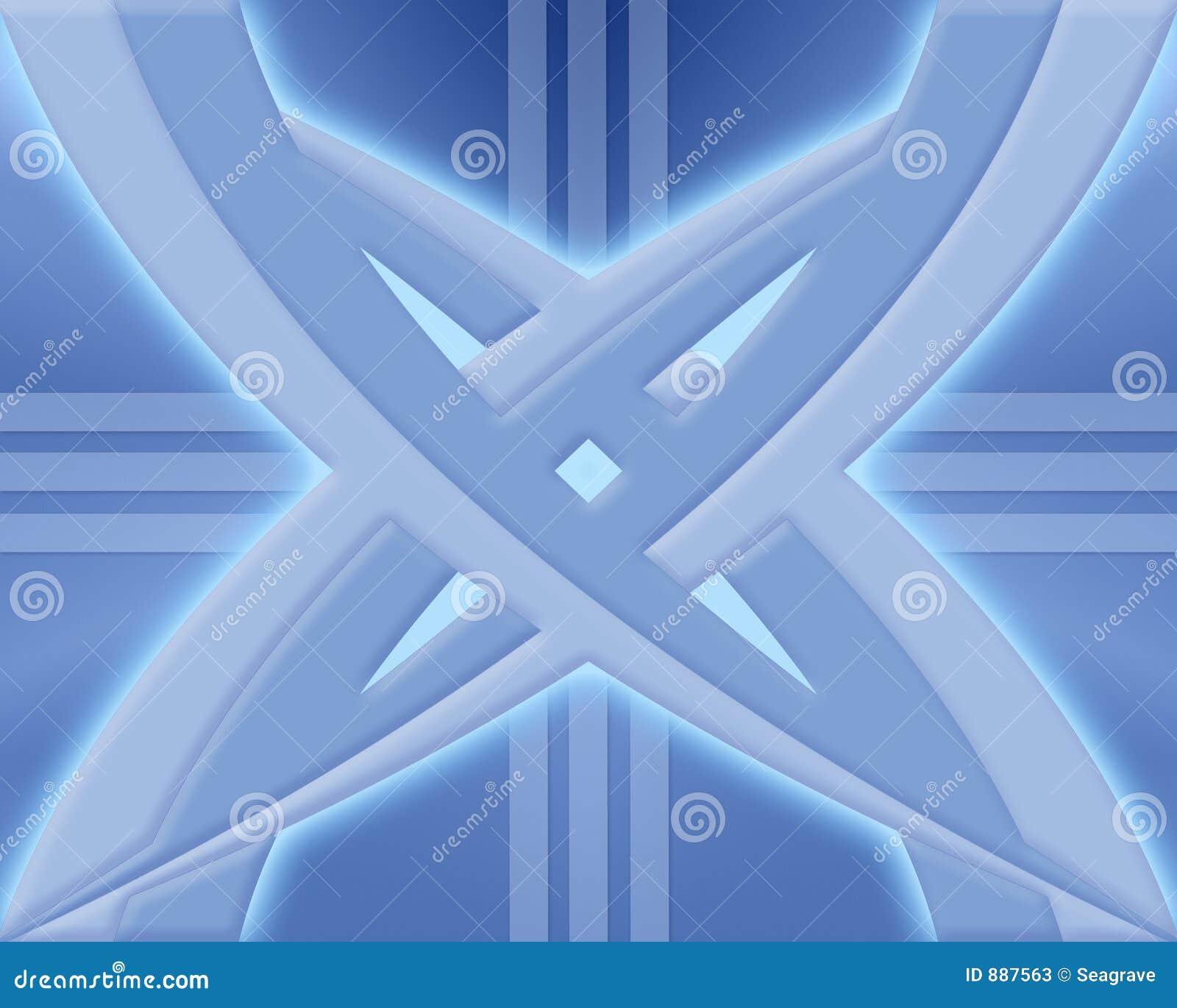 Niebieski projektu abstrakcyjne
