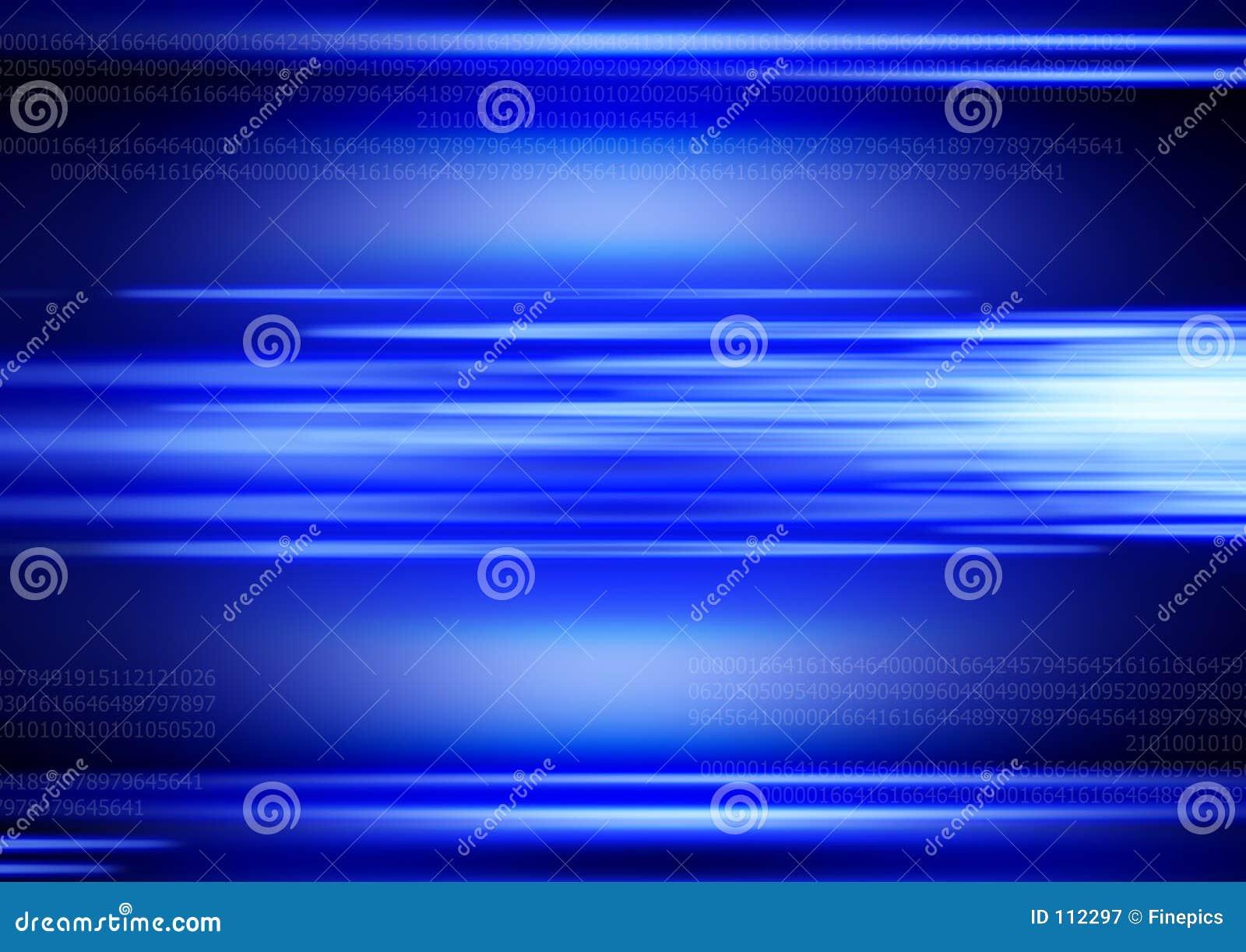 Niebieski tła cyfrowy