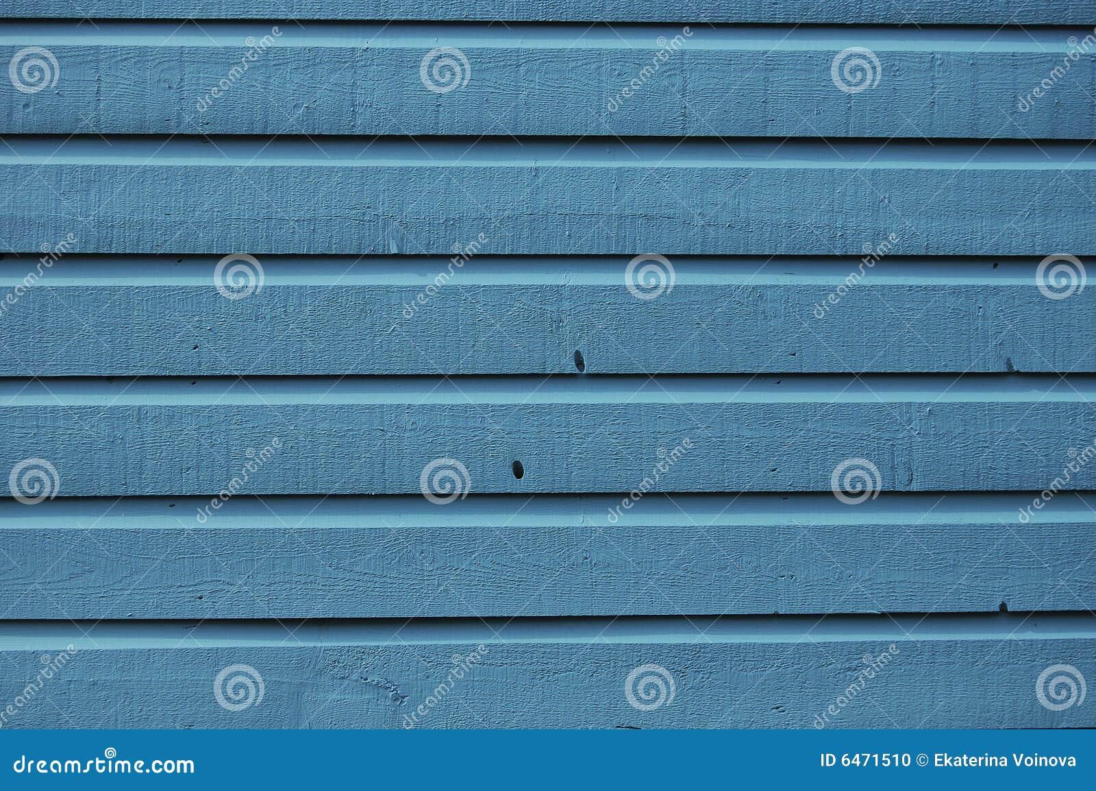 Niebieski tła drewna