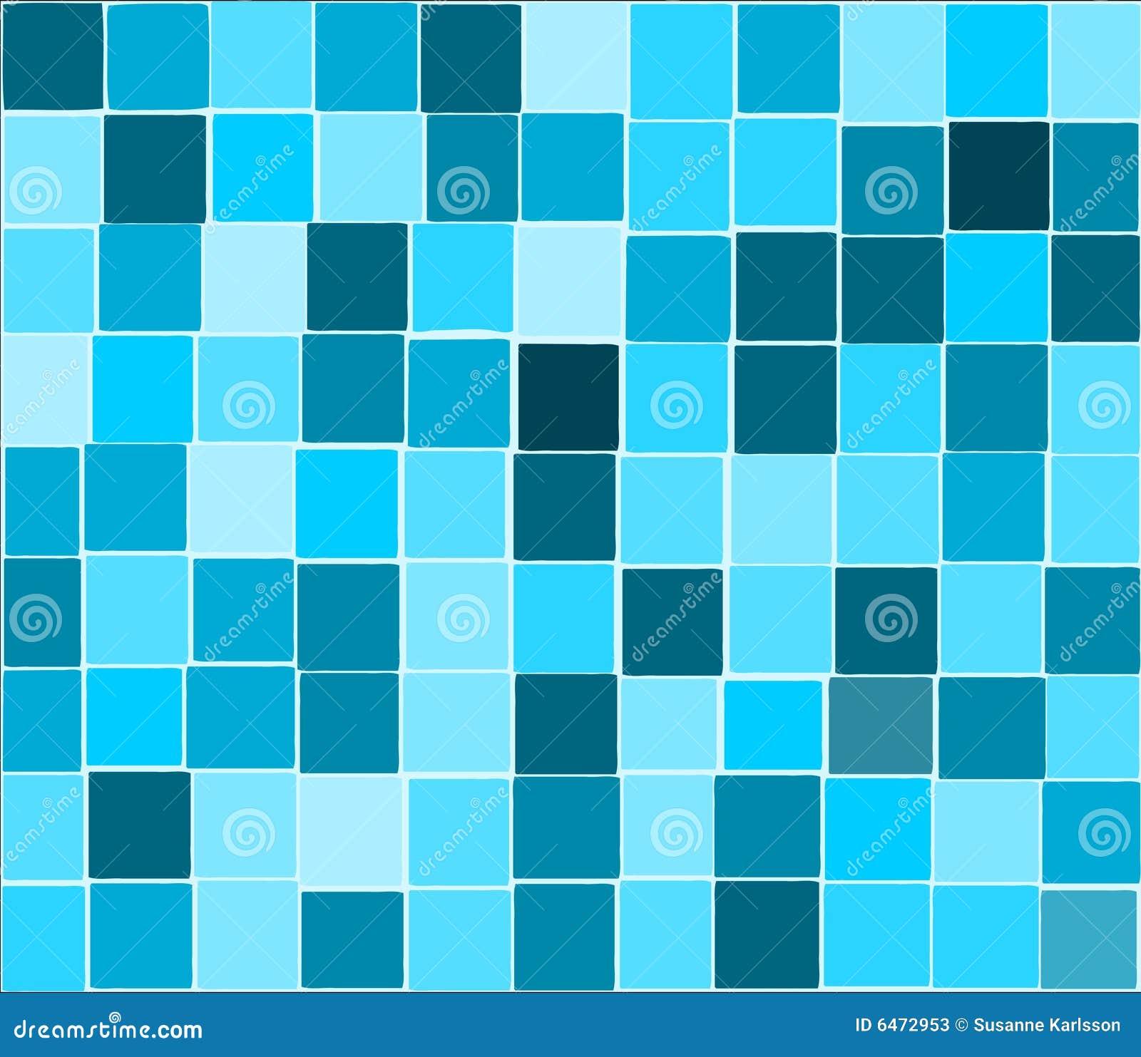 Niebieski tła płytki