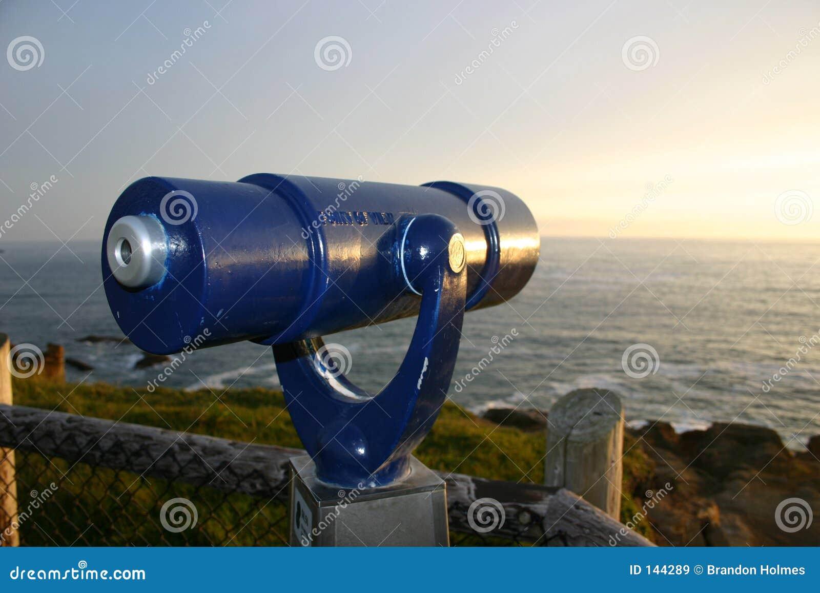 Niebieski teleskop