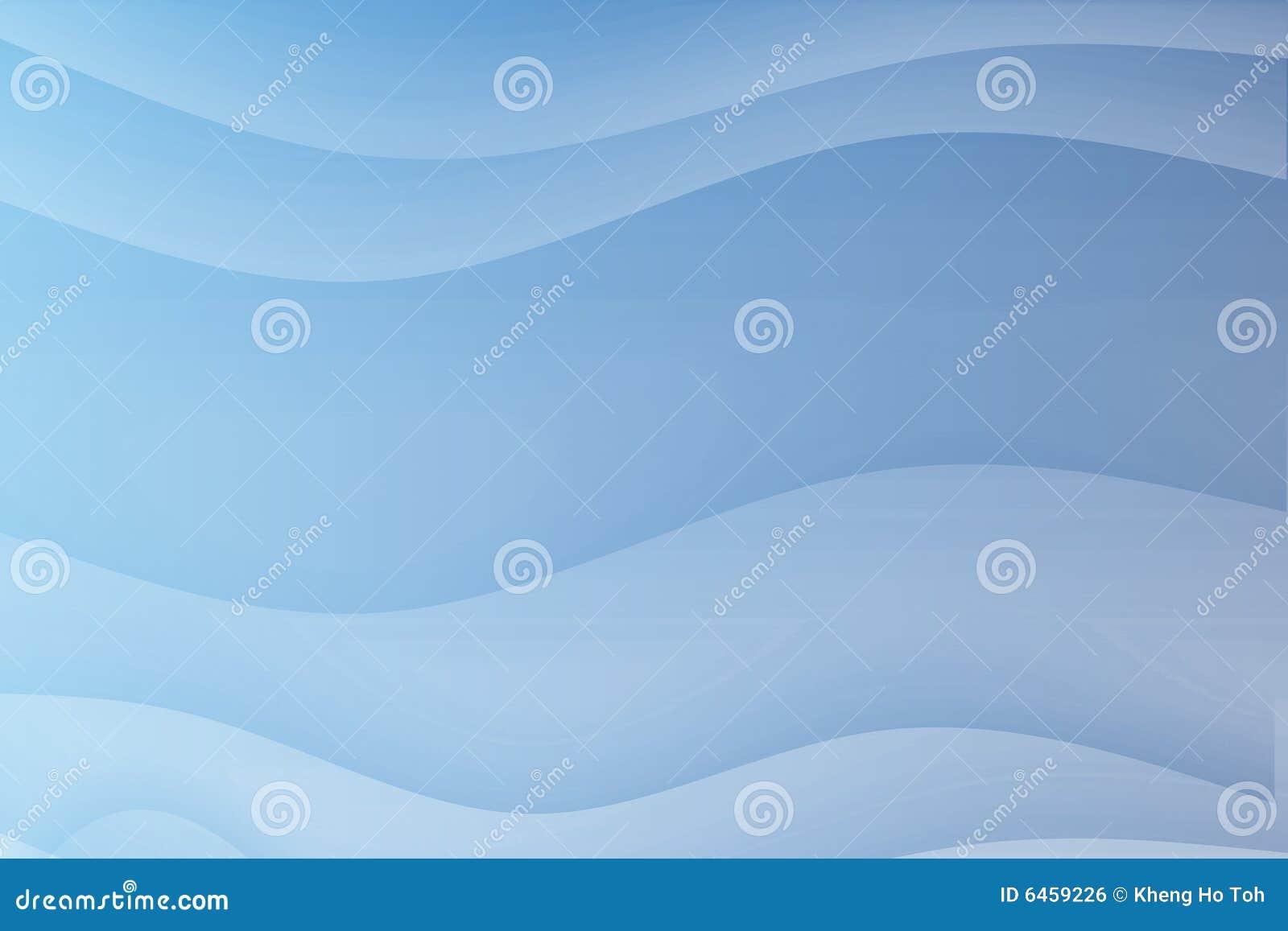 Niebieskie bieżących koi fale