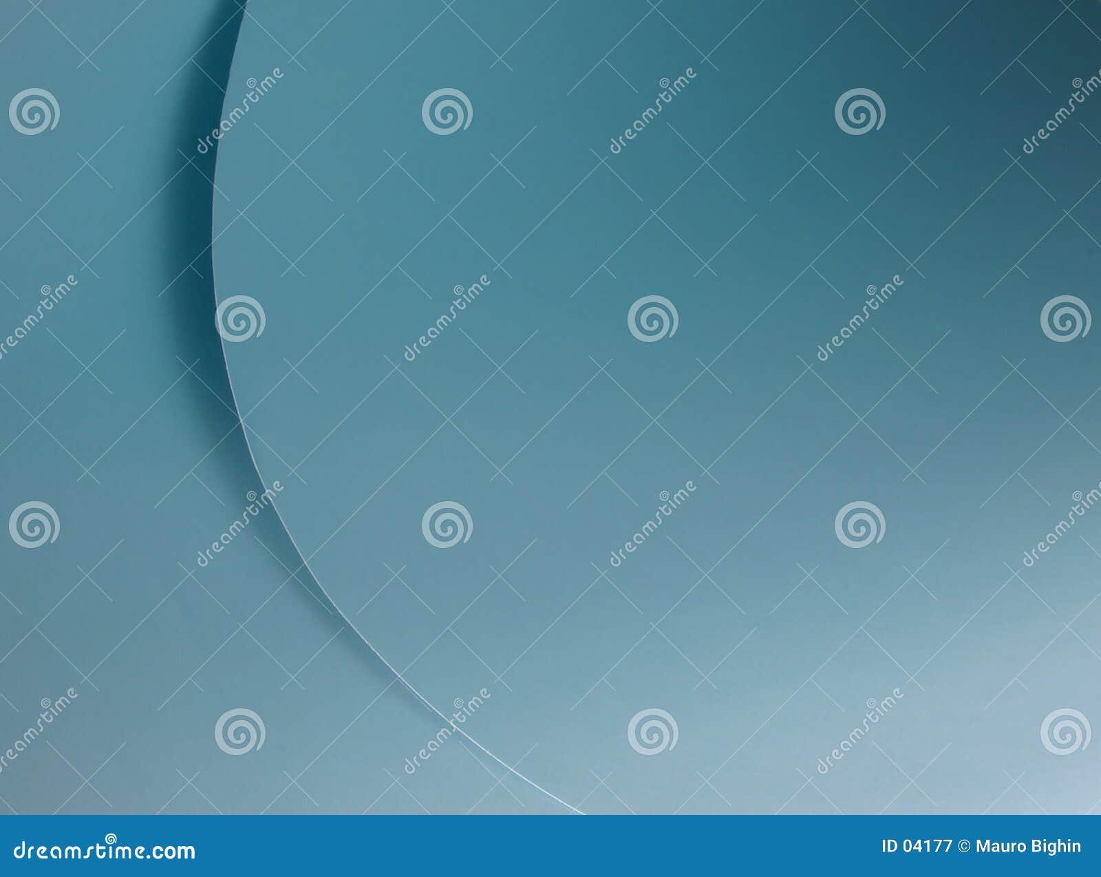Niebieskie krzywej