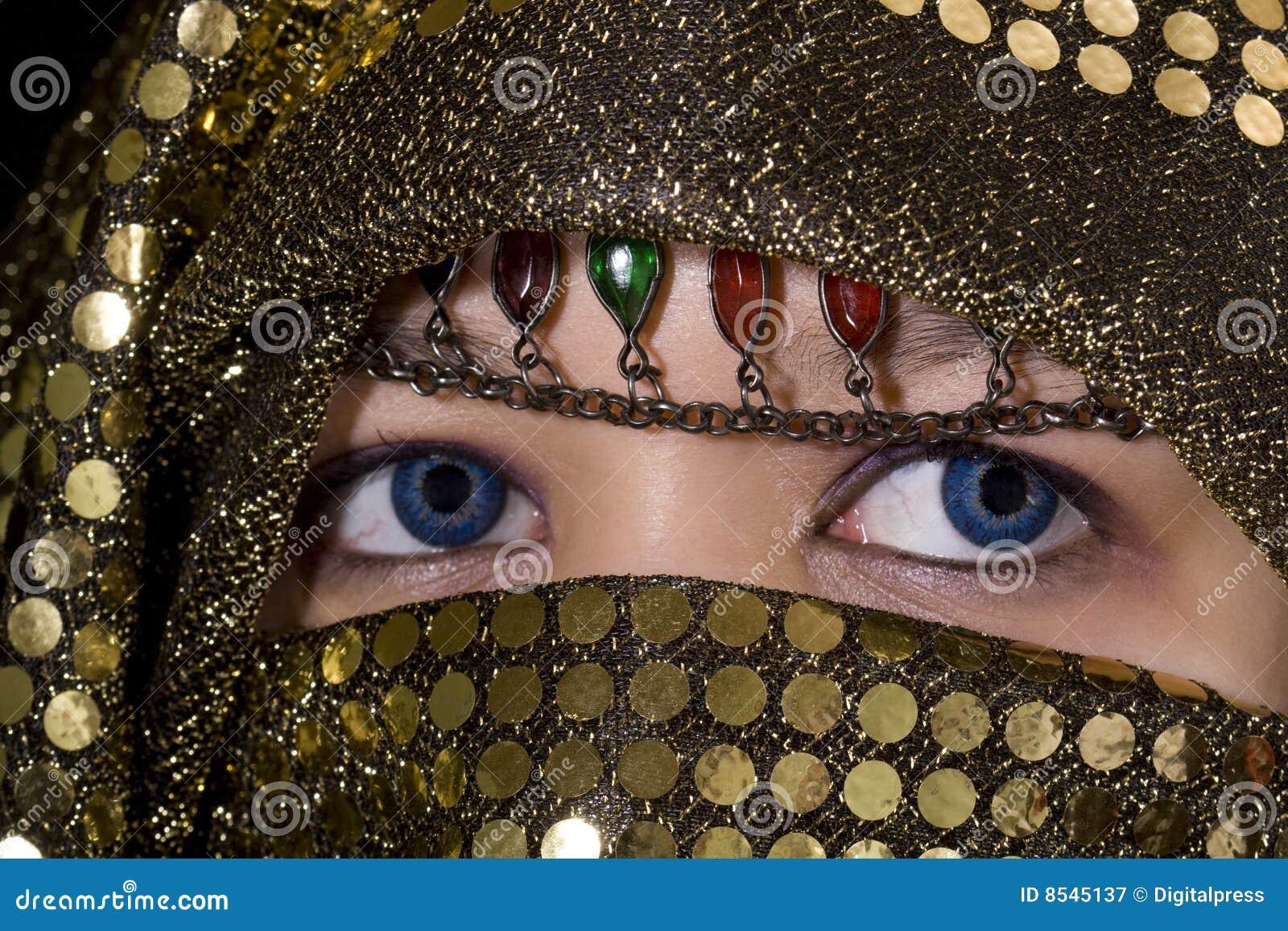 Niebieskie oczy Orient