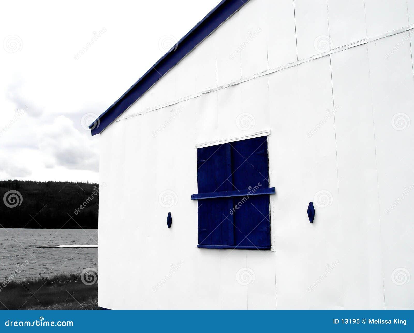 Niebieskie okno