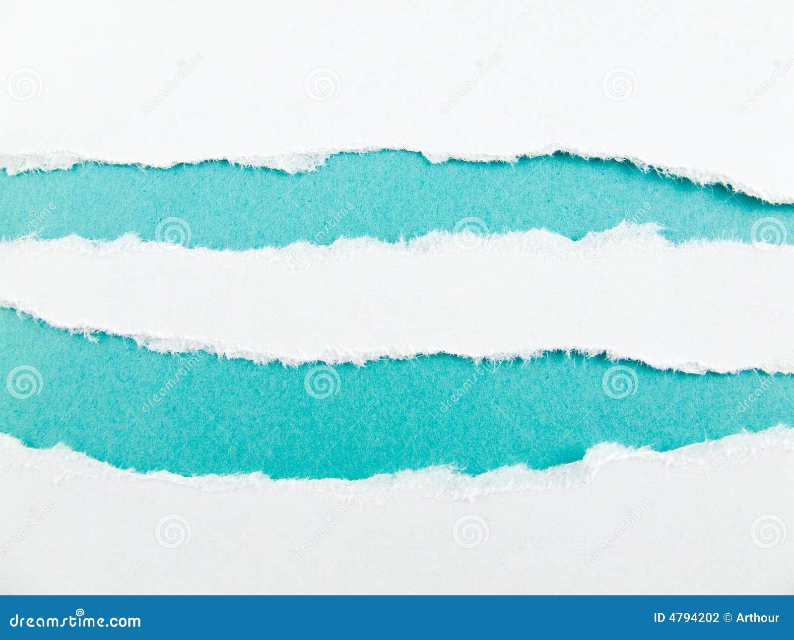 Niebieskie paski