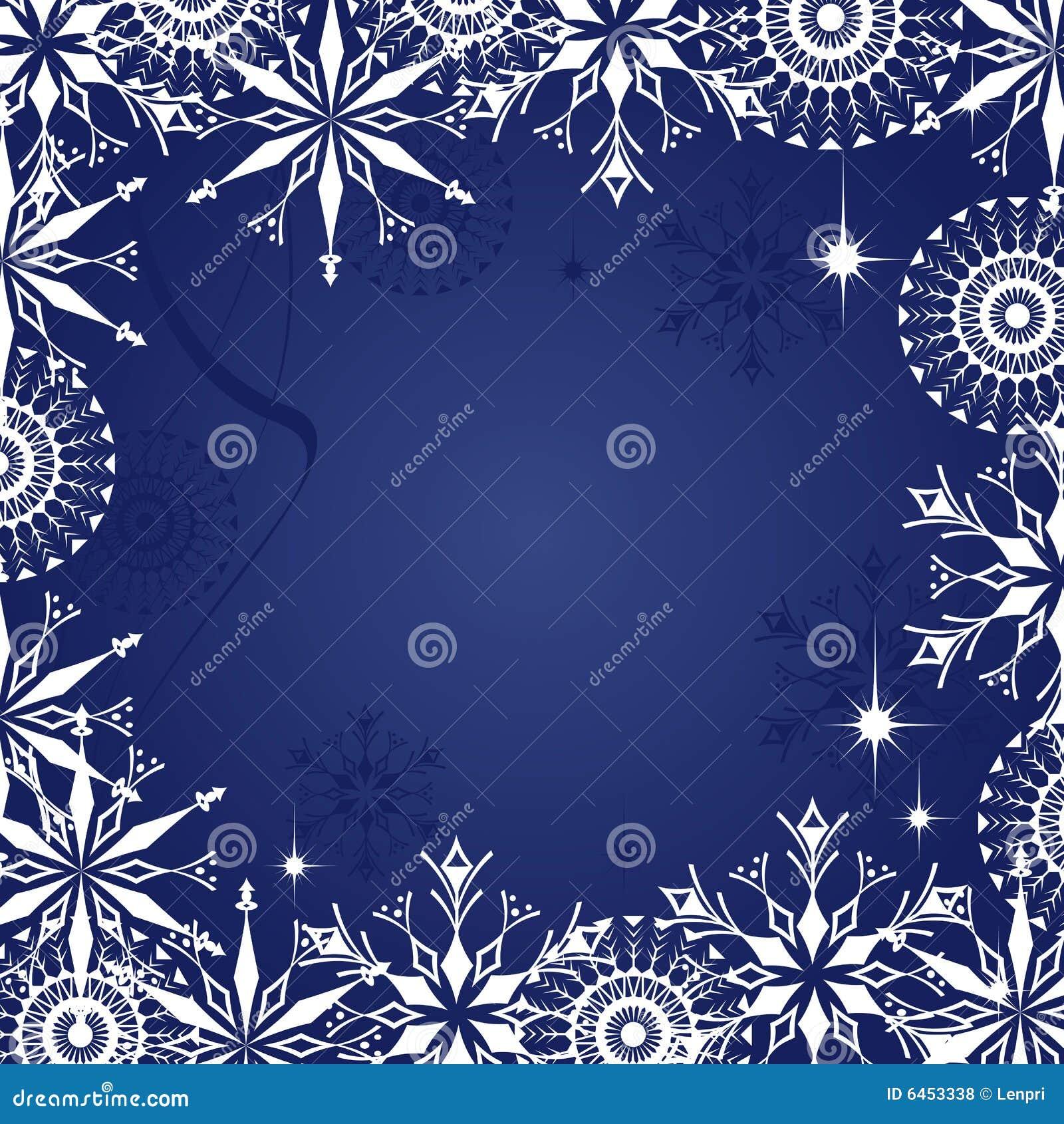 Niebieskie tło Świąt ciemnych