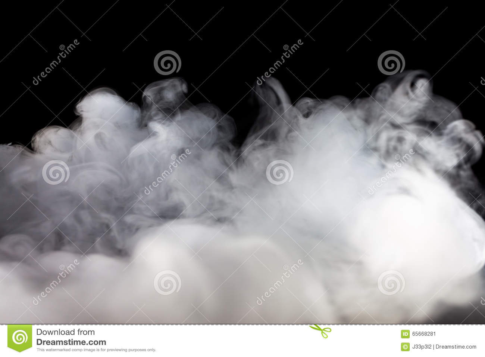 Niebla o humo abstracta