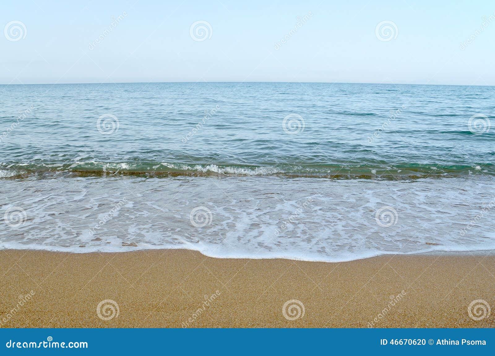 Niebo, morze i piasek,