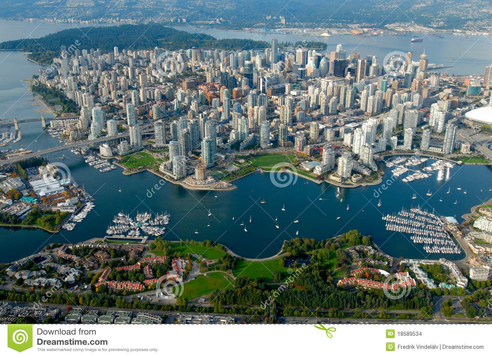 Niebo Vancouver