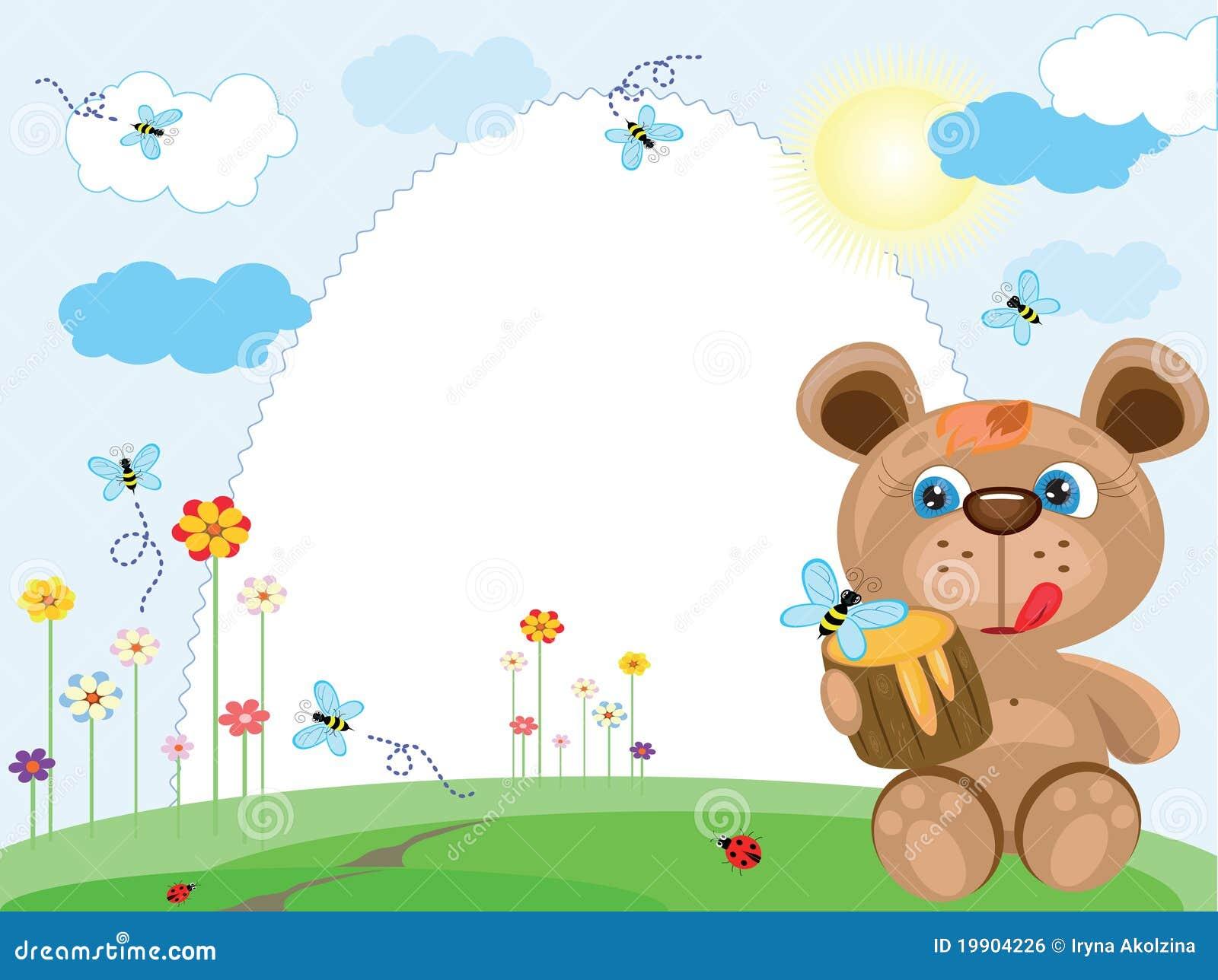 Niedźwiadkowy ramowy lato