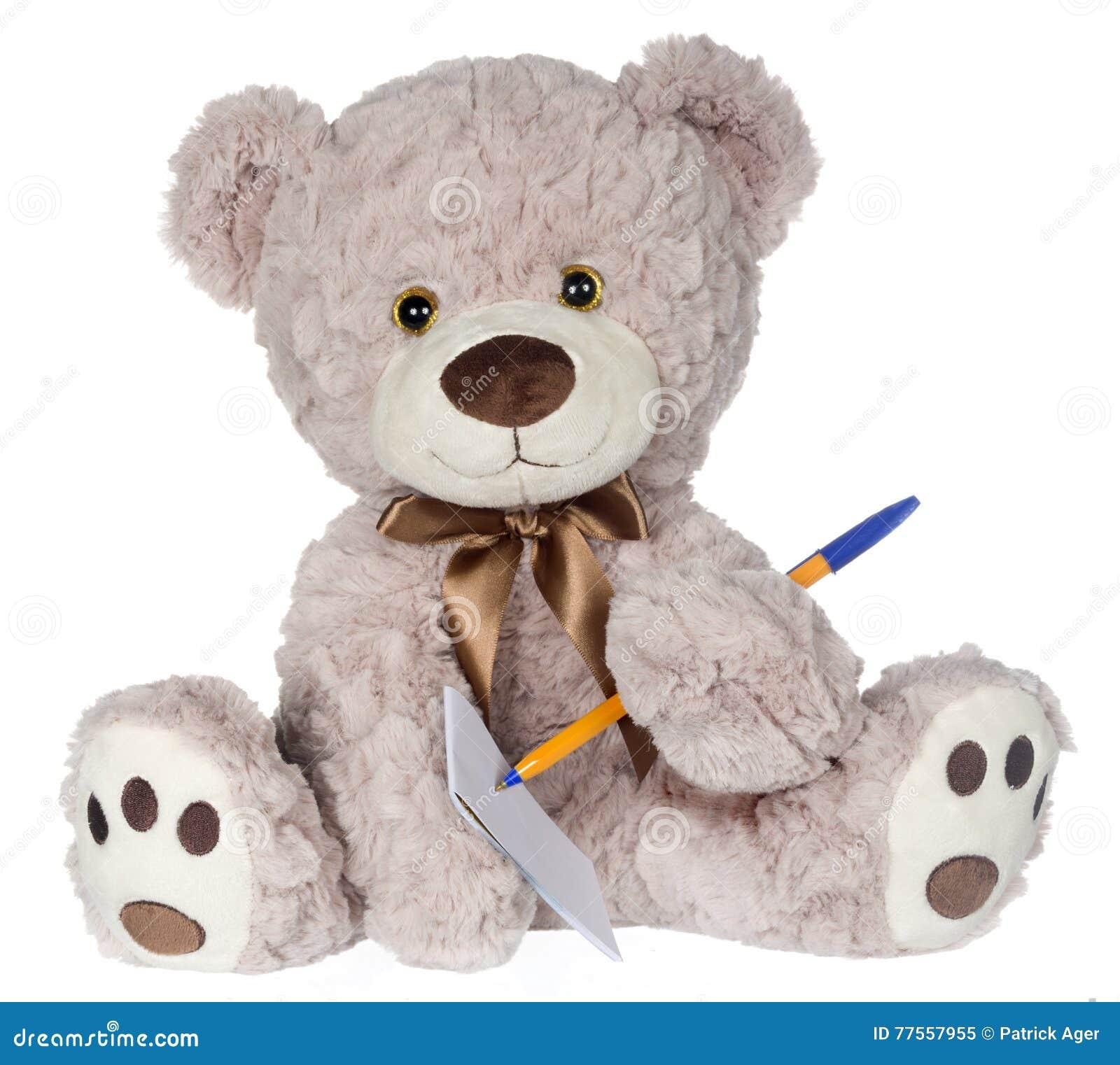 Niedźwiadkowy Writing na ochraniaczu