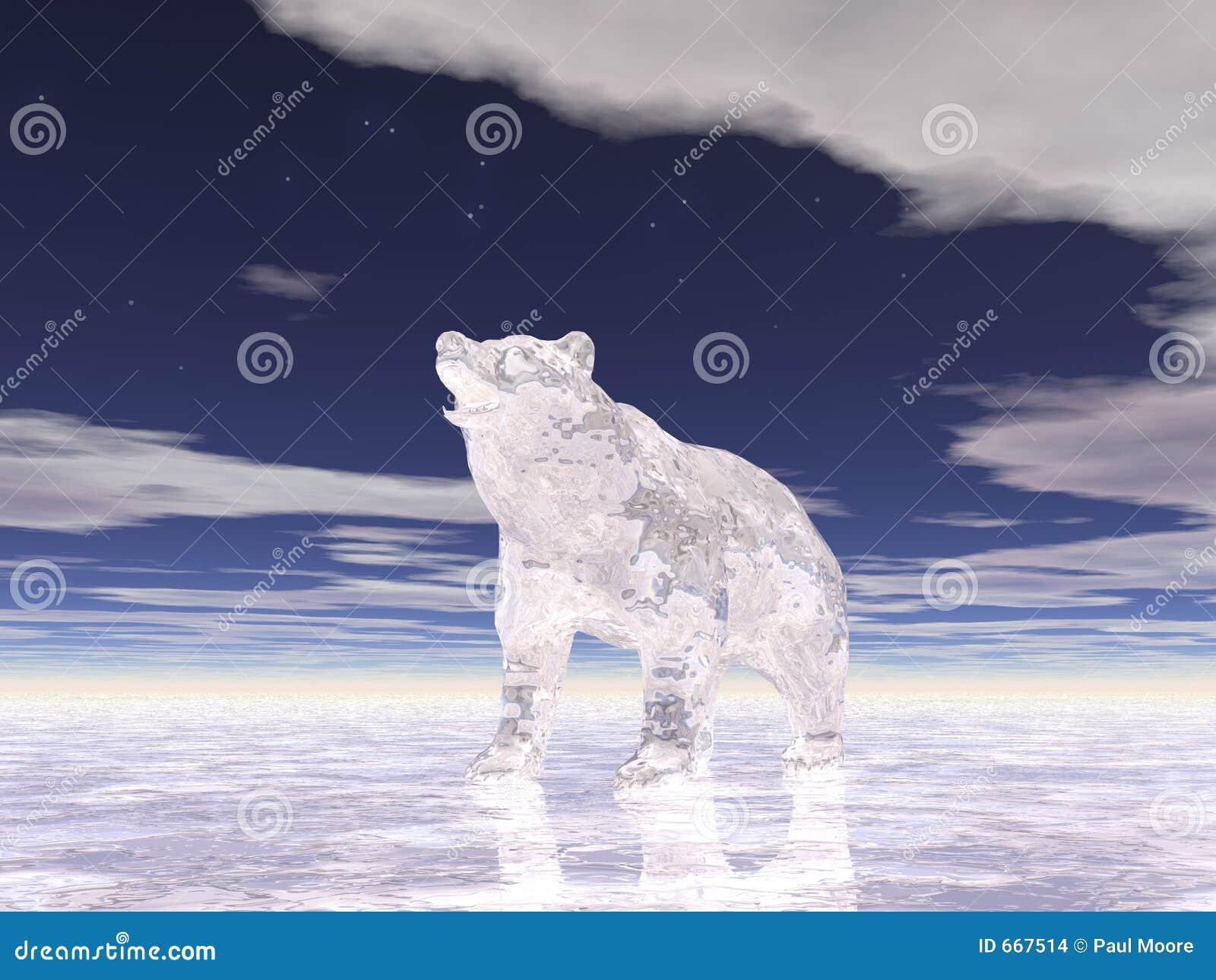 Niedźwiedź lód 2
