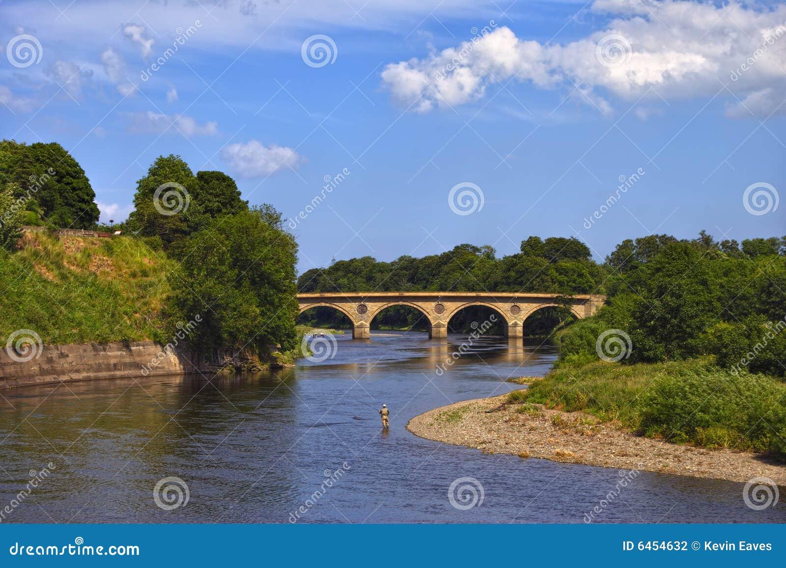 Niedaleko rzeki tweedu coldstream