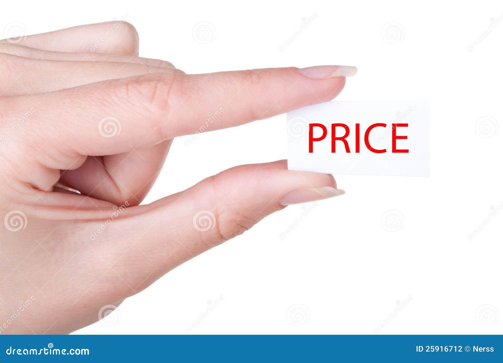 Niedriger Preis