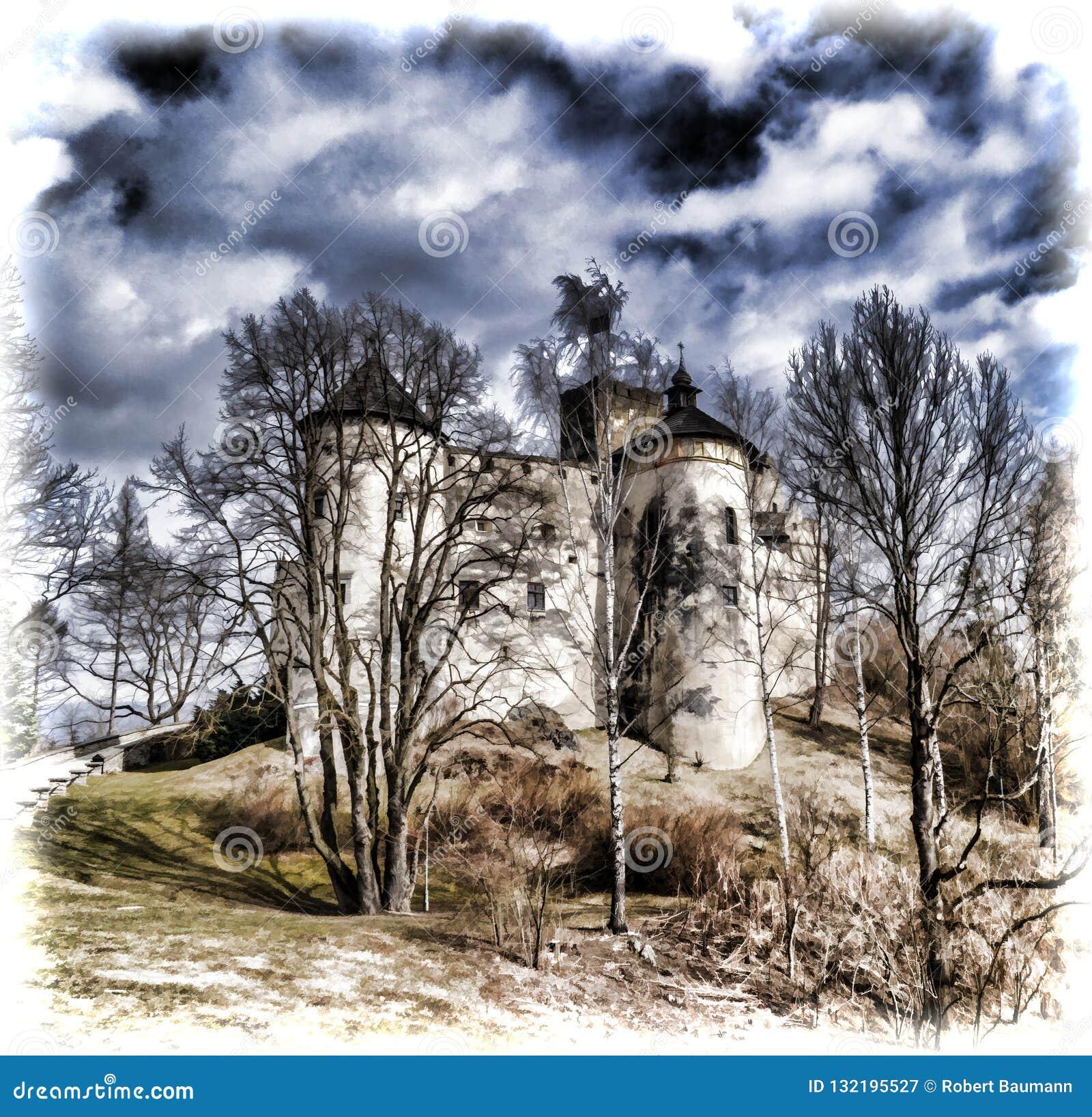 Niedzica Castle στη νότια Πολωνία