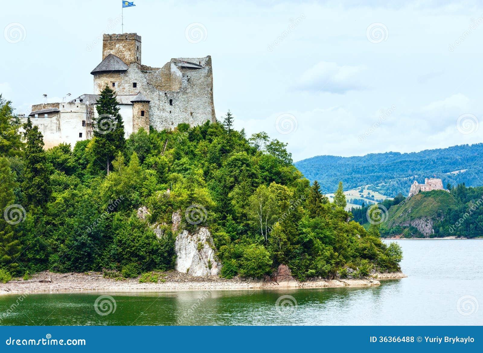 Niedzica Castle (or Dunajec Castle) summer view (Poland).