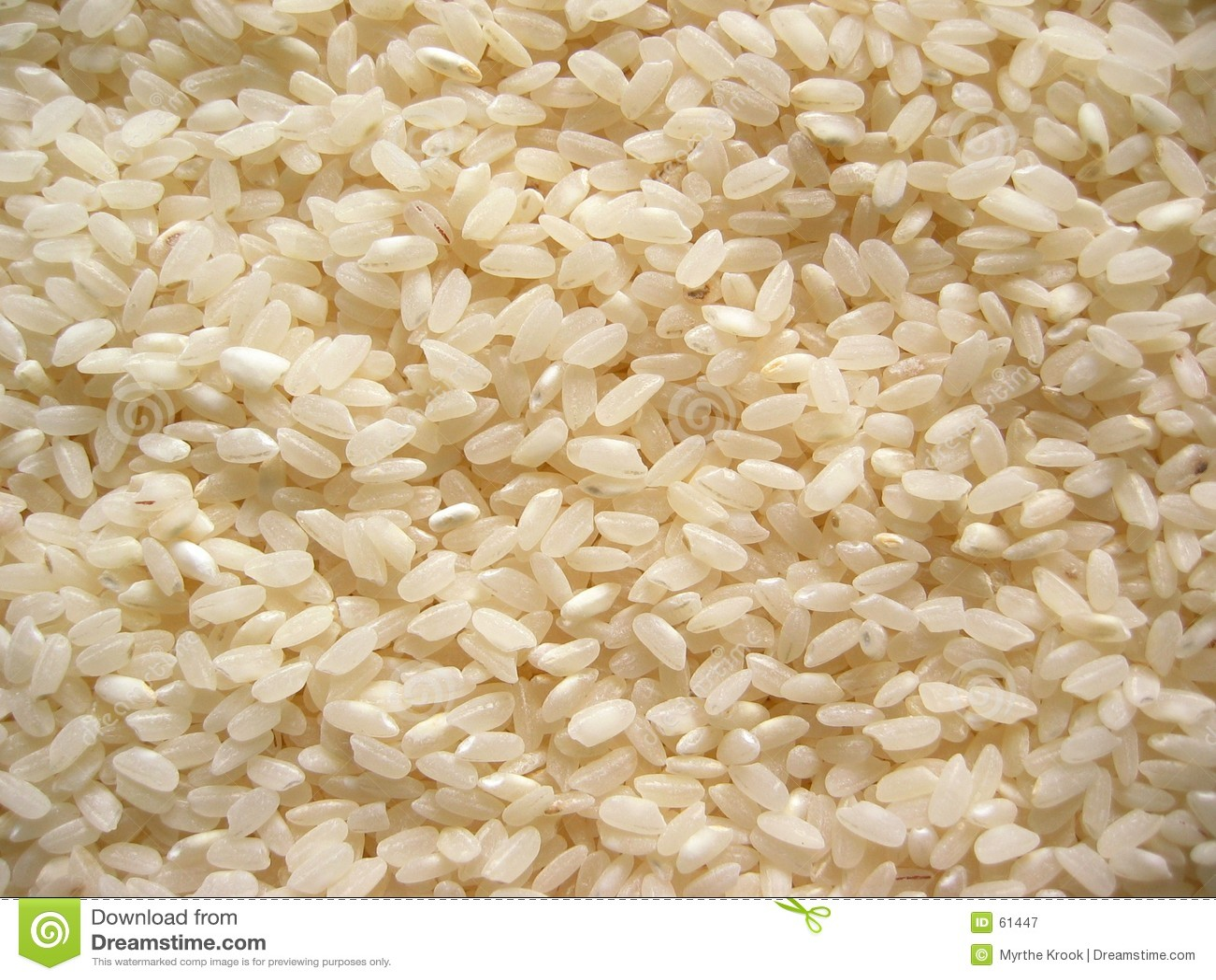 Niegotowane ryżu