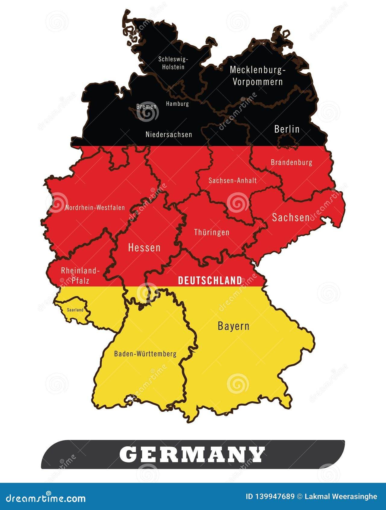 Mapa Hamburga Niemcy Map Of Hamburg 2020 02 06