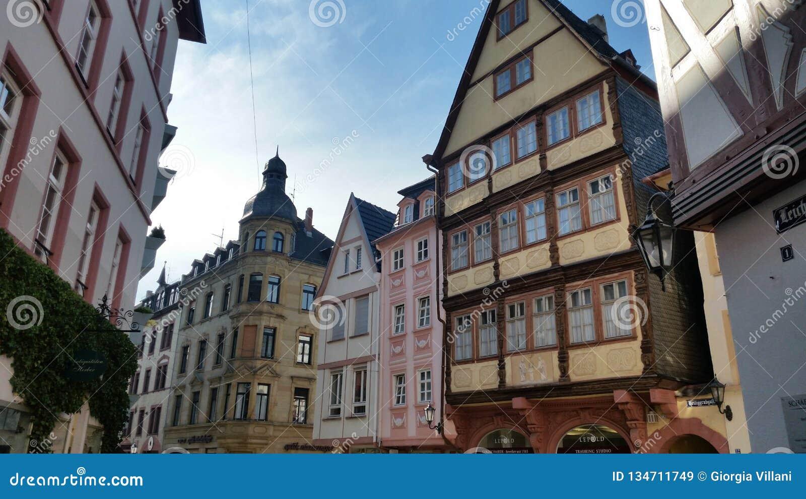 Niemcy miasta krajobraz