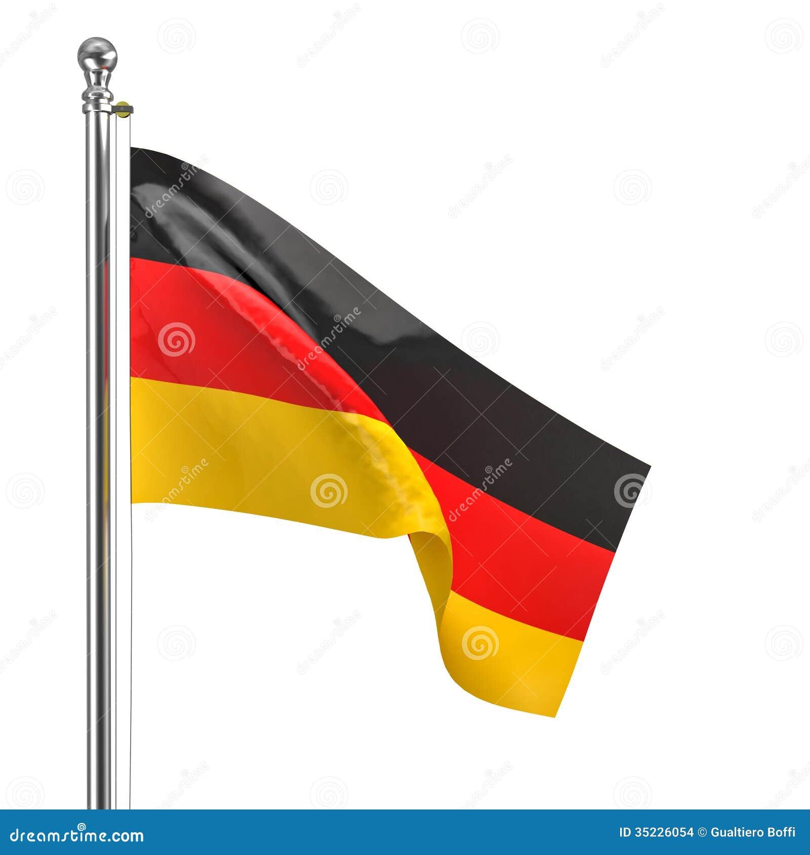 Niemiec flaga