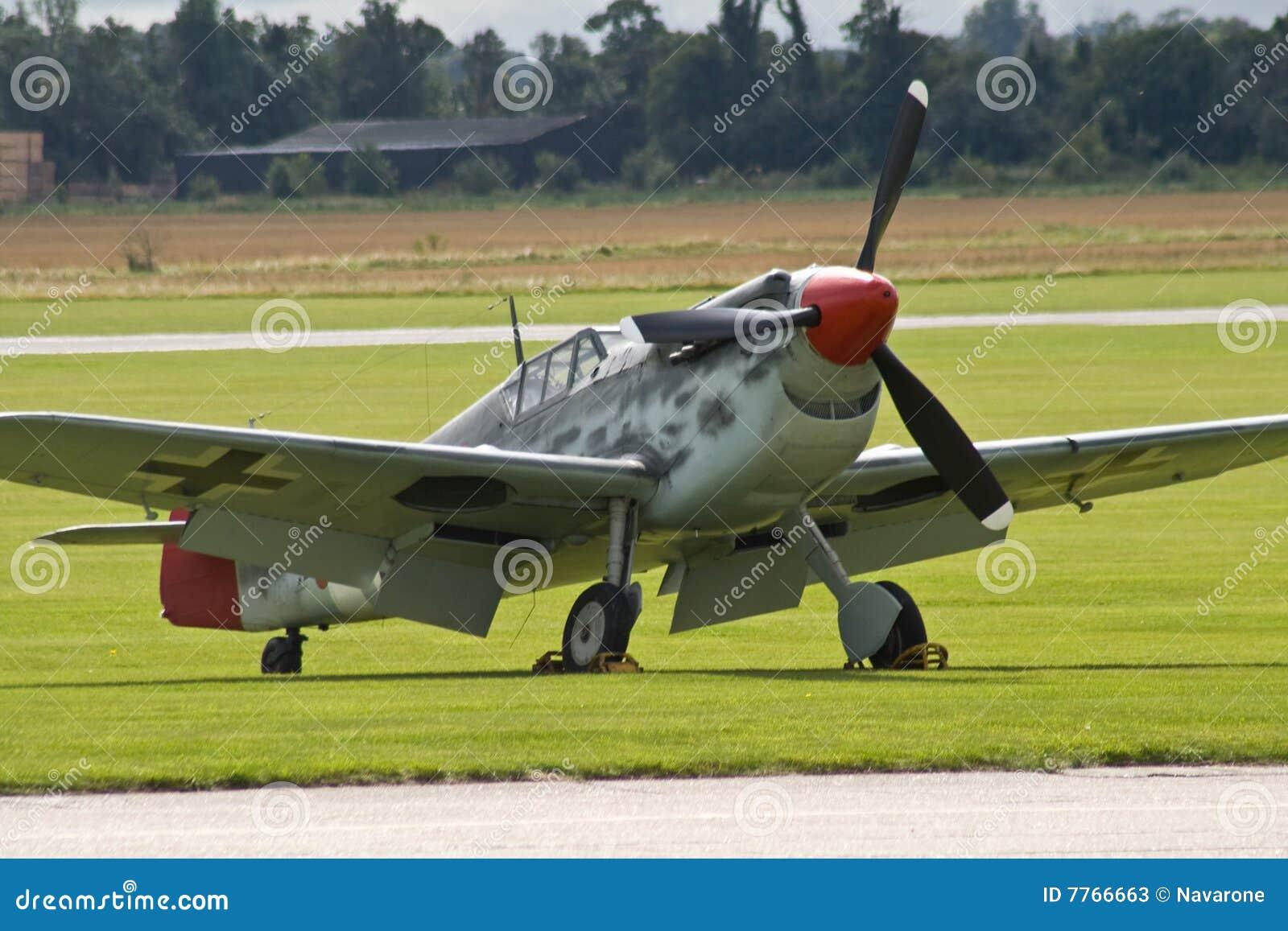 Niemiec myśliwski samolot ww2