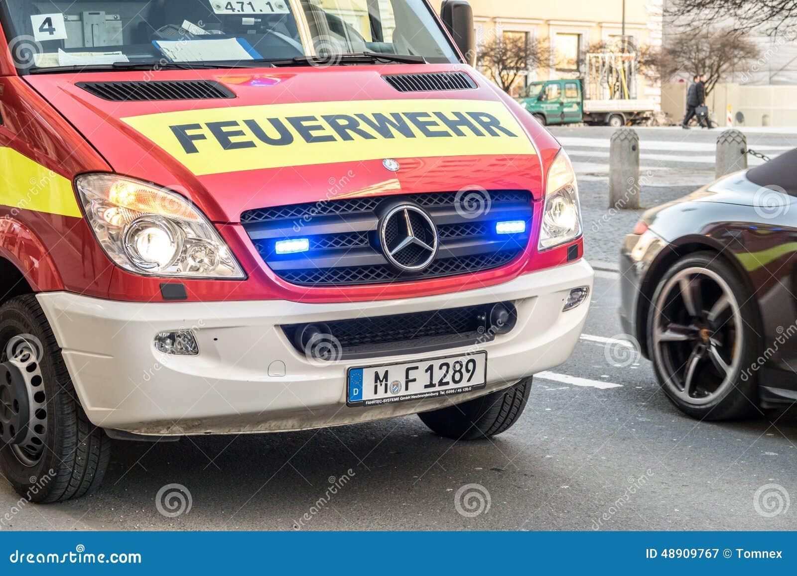 Niemiecka jednostka straży pożarnej