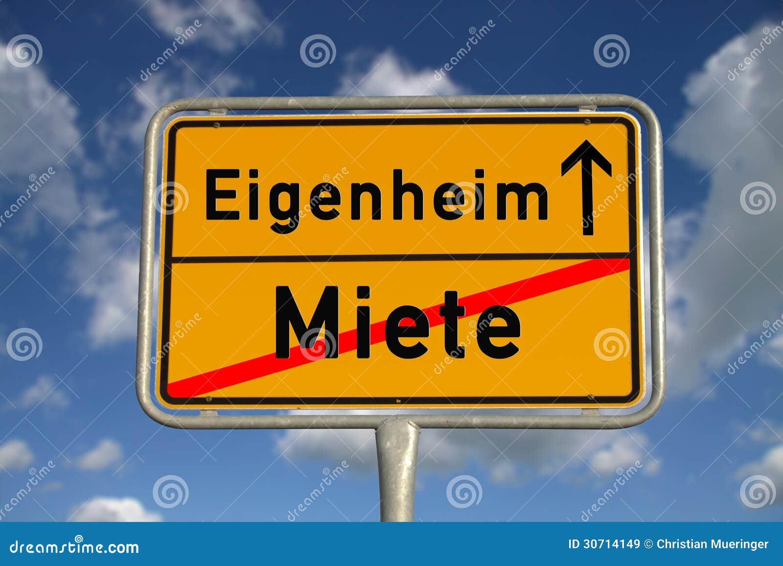 Niemiecki drogowego znaka wynajem i posiadać do domu