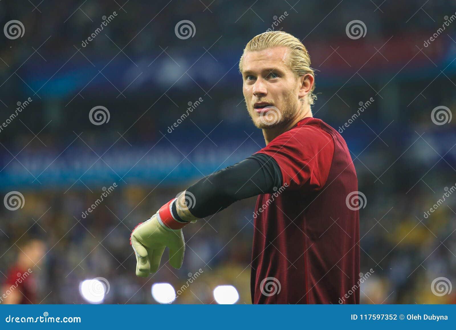 Niemiecki fachowy futbolista Loris Karius