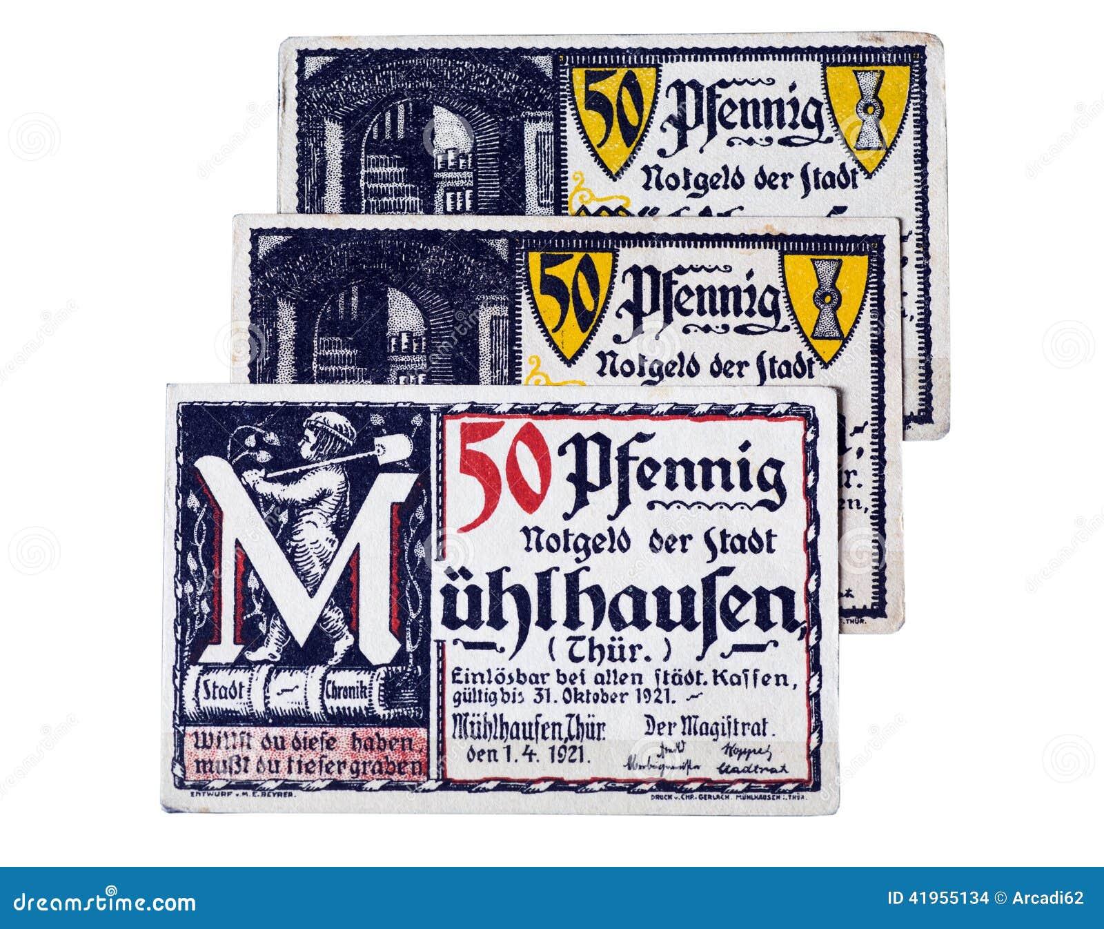 Niemiecki pieniądze