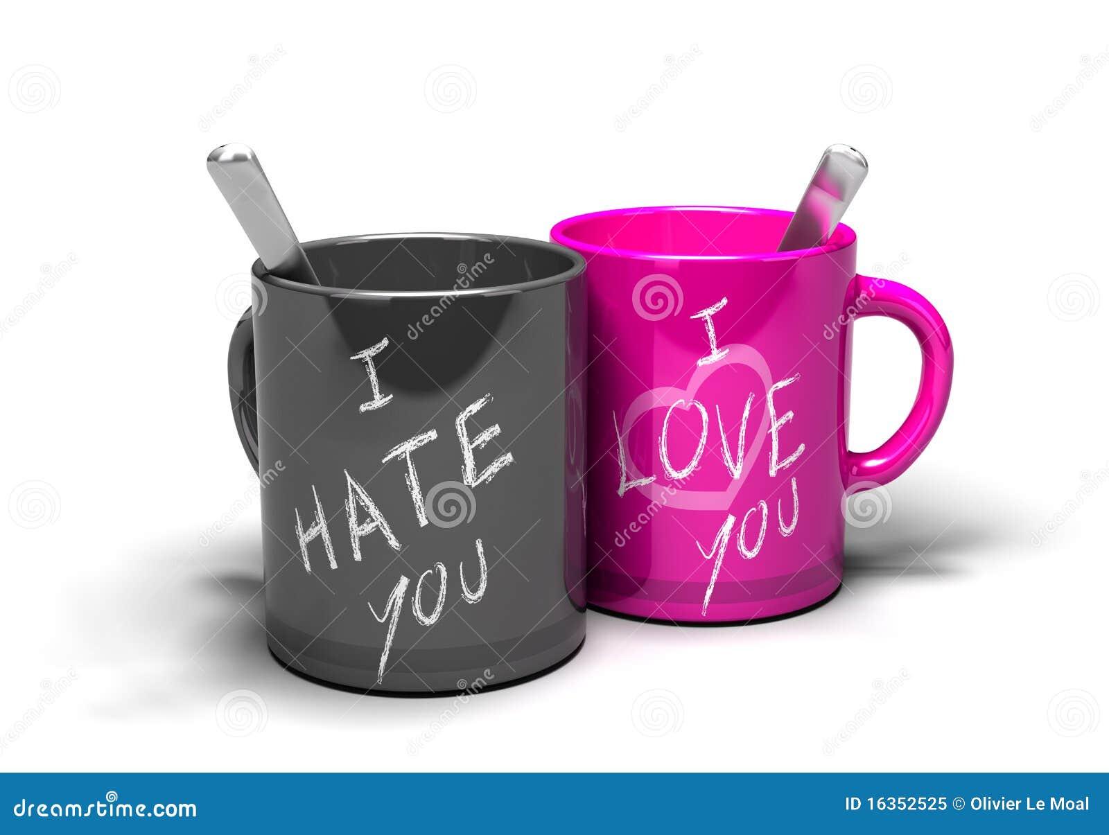 Nienawiści miłości związek