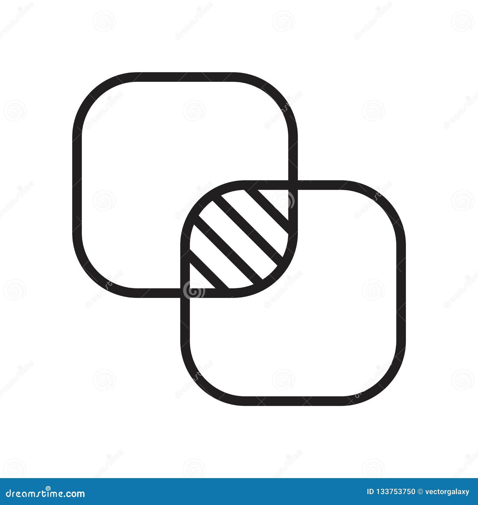 Nieprzezroczystości ikony wektoru znak i symbol odizolowywający na białym tle, nieprzezroczystość logo pojęcie
