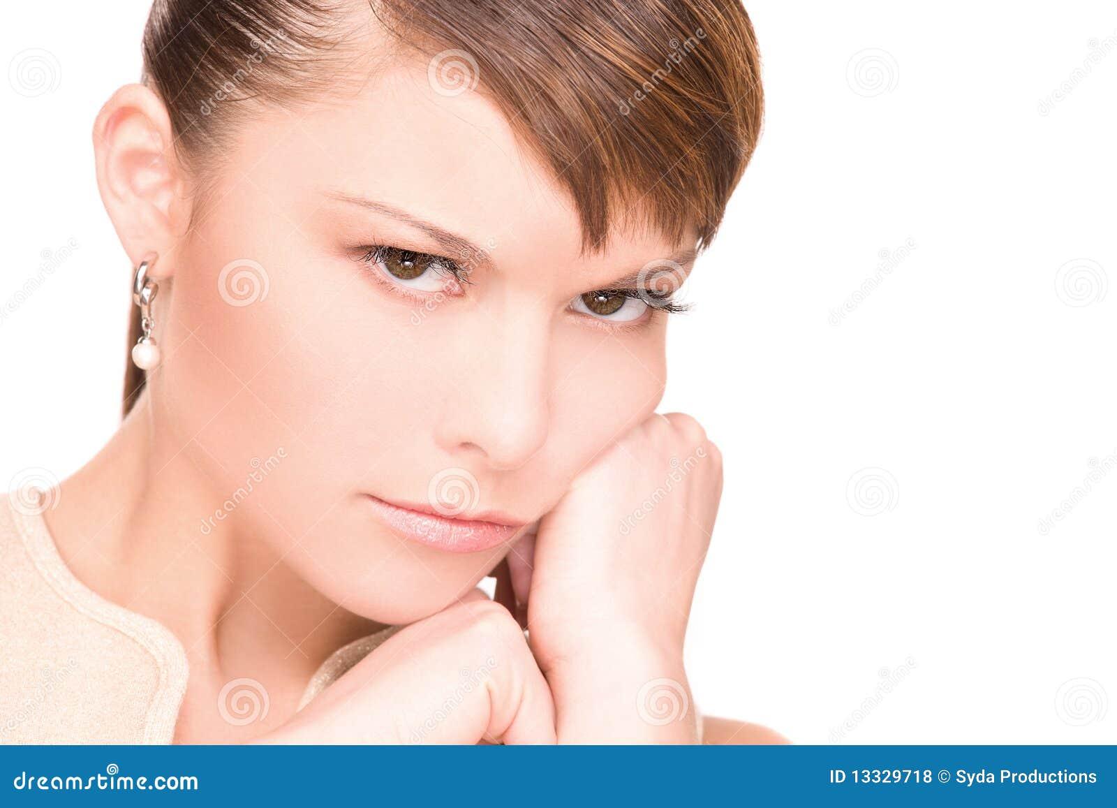 Nieszczęśliwa kobieta