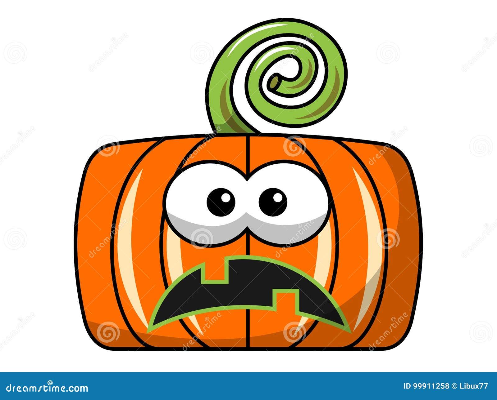 Nieszczęśliwa Kwadratowa Halloween bania odizolowywająca