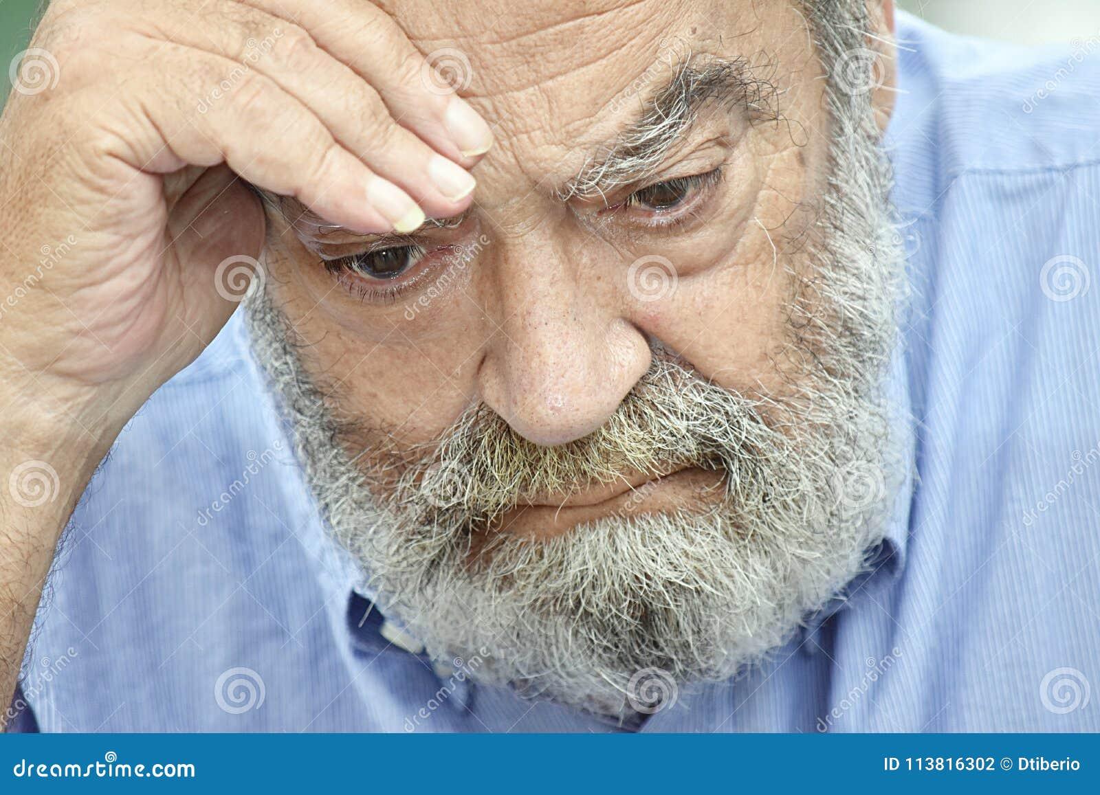 Nieszczęśliwy Brodaty Stary Grampa