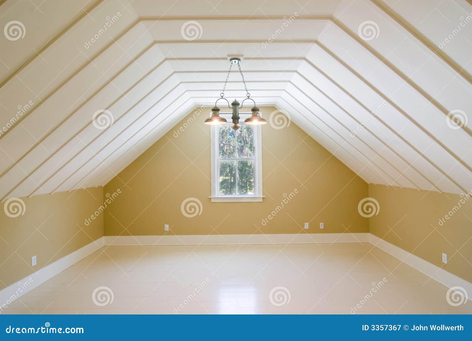 Niet gemeubileerde boven slaapkamer