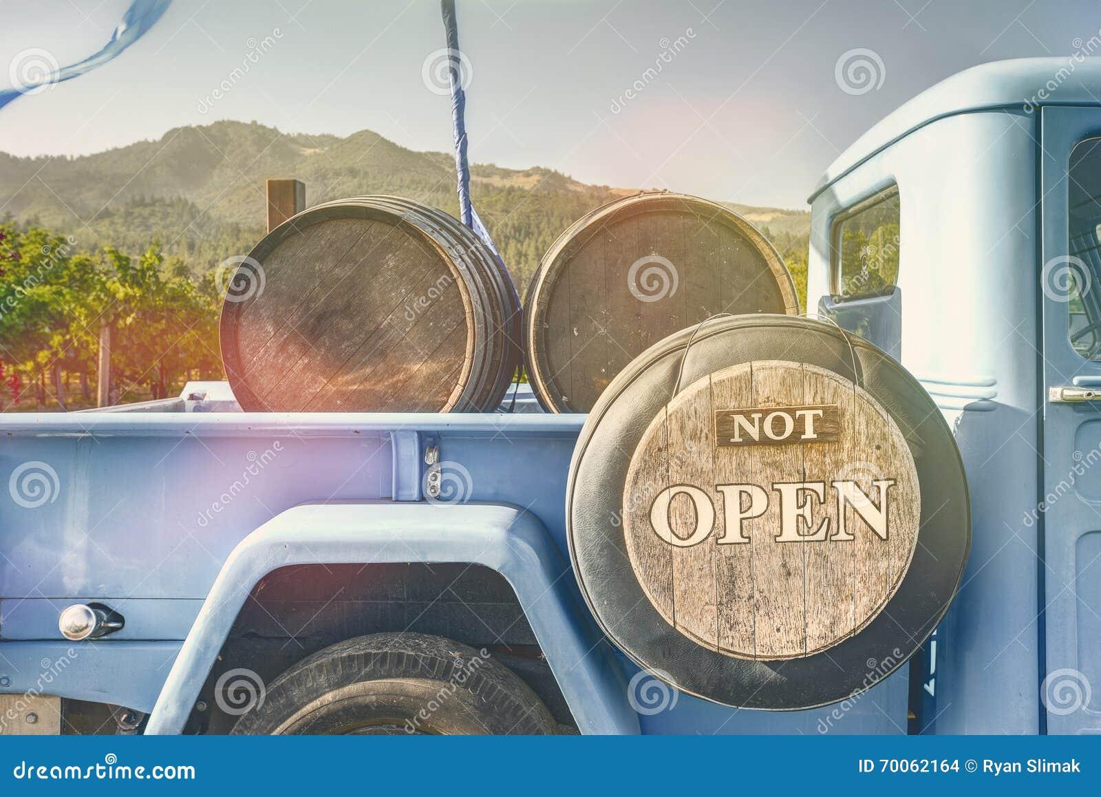 Niet Open, ga drinken Wijn