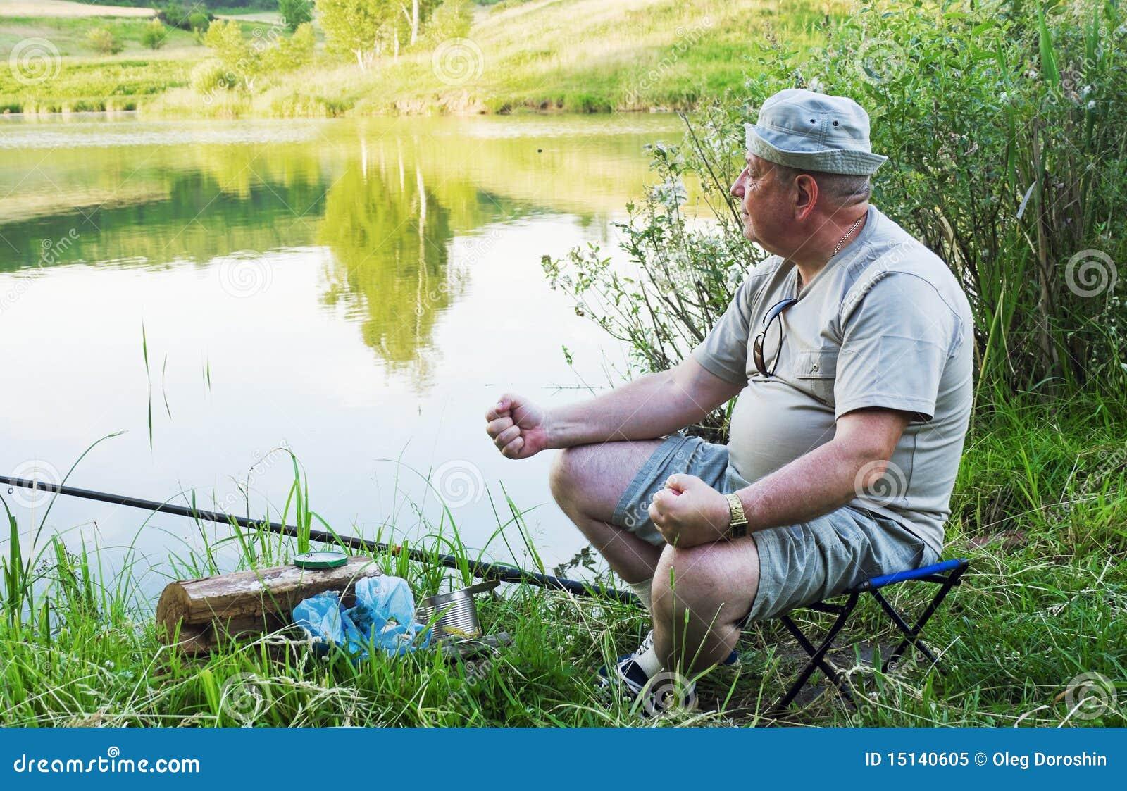 Niet succesvolle visser