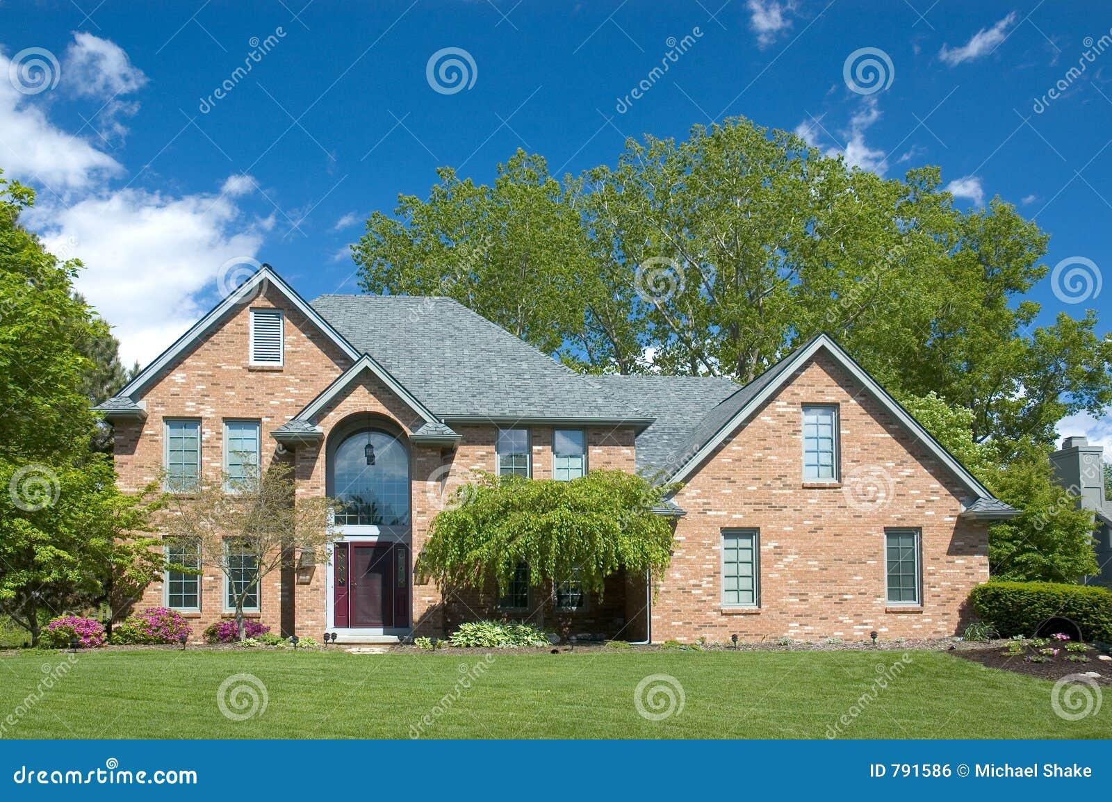 Nieuw huis 110 stock foto afbeelding bestaande uit baksteen 791586 - Nieuw huis binneninrichting ...