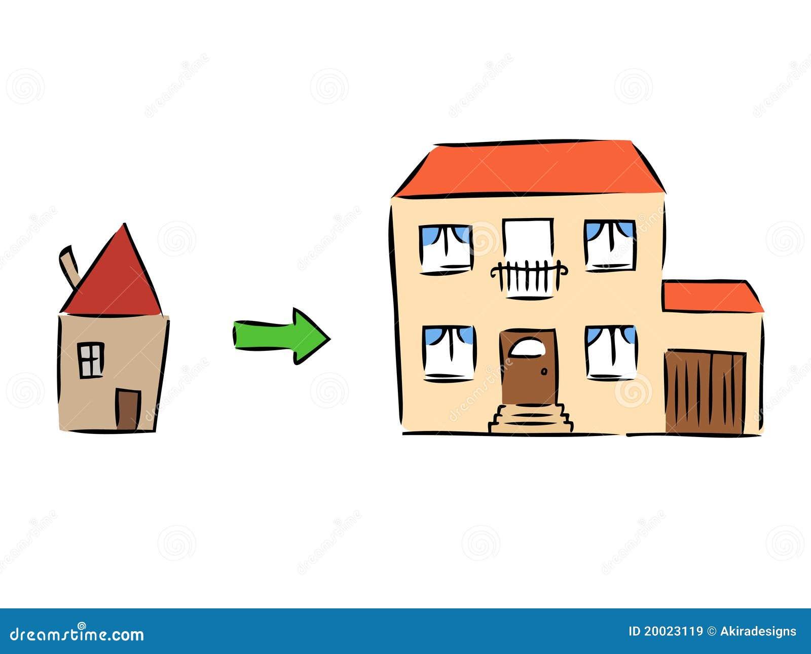 Nieuw huis vector illustratie illustratie bestaande uit When is the best time to move house