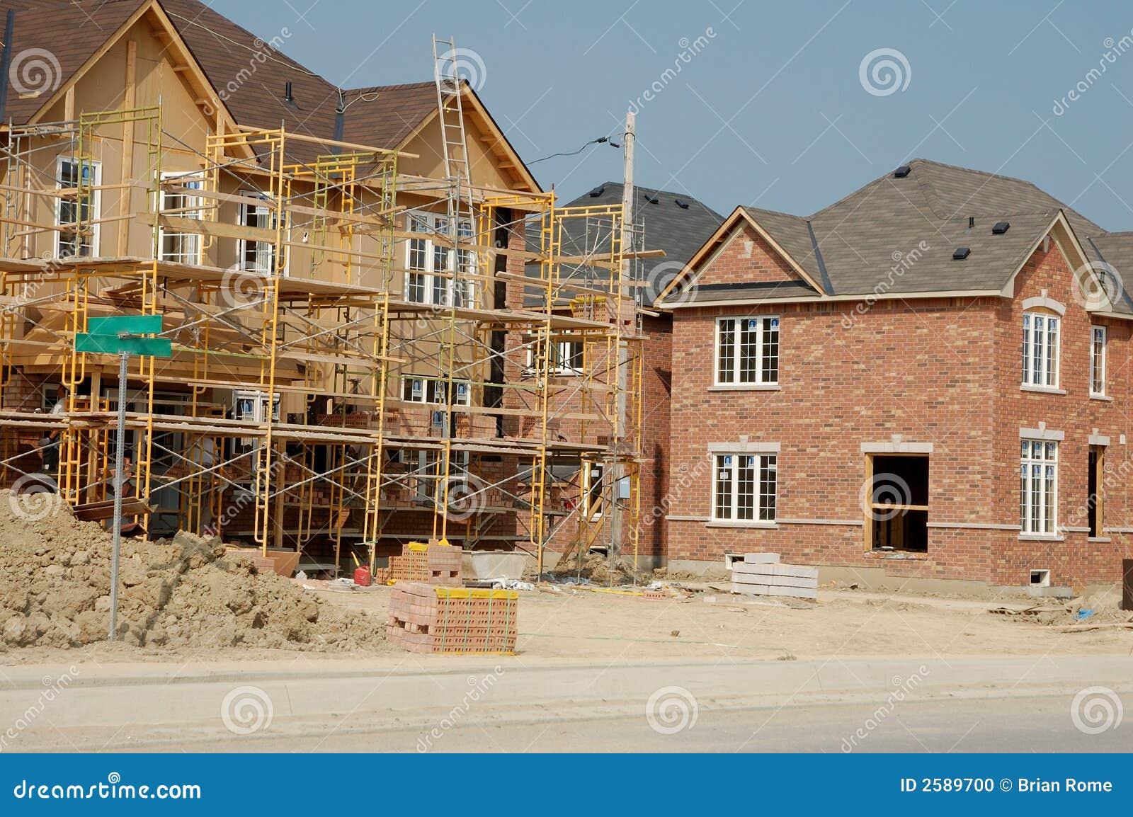 Nieuw huisbouw
